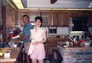 Amy and Glenn Rinker, Orlando 1990