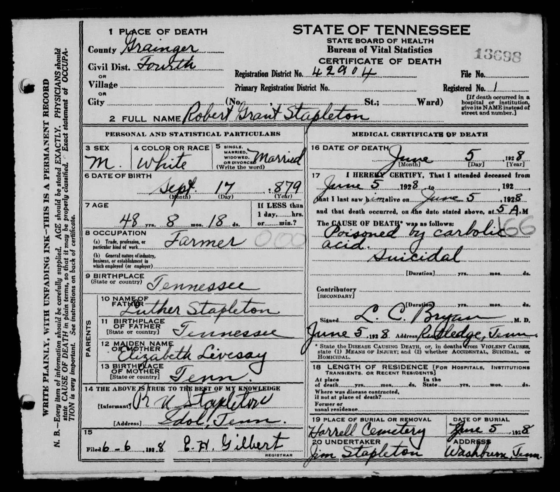 Thomas livesay lineage page certificate 1betcityfo Image collections