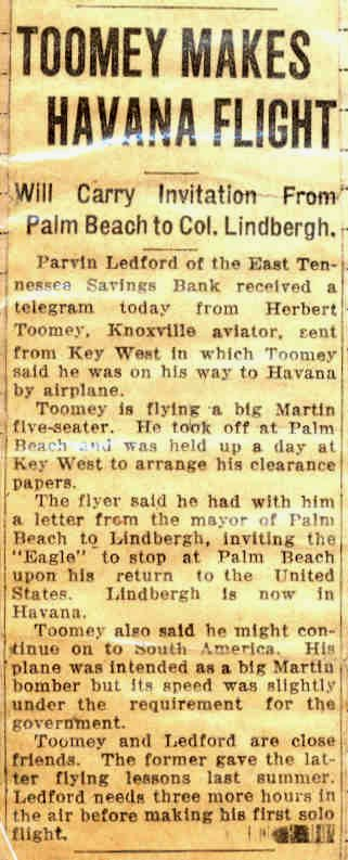 Herb flies to Havana